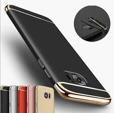 For Samsung Galaxy S7 Edge Shockproof Hybrid Hard Bumper Soft Rubber Case Cover