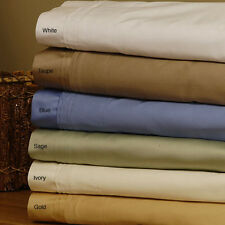 Luxurious Quality 1 pc Bed Skirt Extra Drop Length 1000 TC 100%Egyptian Cotton