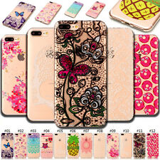 For Apple iPhone SE 5S 6S 7 Plus Case Soft TPU Protector Clear Back Skin Cover
