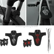 Mountain Bike Bicycle Front and Rear Fenders Mudguard Set Quick Release Cycling