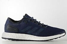 adidas Performance PURE BOOST MEN'S RUNNING SHOES,NAVY/BLUE- Size 10, 10.5 Or 11