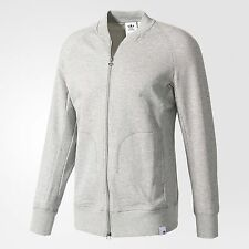 adidas Originals XBYO MEN'S LUXE TRACK JACKET, GREY - Size XS, S, M, L Or XL