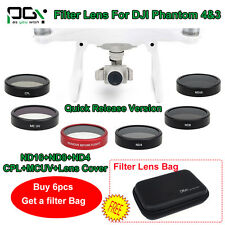 PGY HD Camera ND4 ND8 Filter/CPL Polarizer/MC UV Filter Lens For DJI Phantom Q6