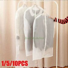 Home Coat Clothes Jacket Suit Cover Bag Dustproof Hanger Storage Protector LOT