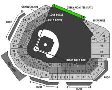 4 Green Monster Tickets!! Boston Red Sox vs LA Angels Sunday, June 25th