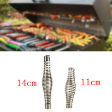 "4.3"" 5.5"" Handle Spring BBQ Grill For Furnace Wood Stove Smoker Stainless Steel"