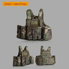 Tactical Military Airsoft Paintball Molle Strike Plate Carrier Swat Combat Vest