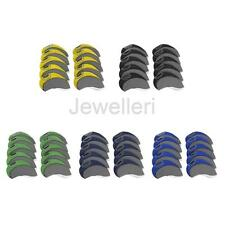 10Pcs Neoprene Golf Club Iron Head Covers Headcover Case Set - Left/Right Handed