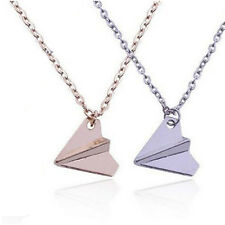 One Direction Band Harry Styles Men Paper Airplane Pendant Necklace Fashion