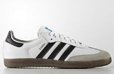 adidas Originals SAMBA MENS SHOES Leather Upper,White/Black/Gum-Size 12,13 Or 14