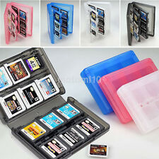 Practical 28-in-1 Game Card Case Holder Cartridge Box for Nintendo 3DS XL LL Dsi