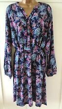 M&S Per Una Blue Floral Tea Dress Size 14 BNWT RRP £39.50