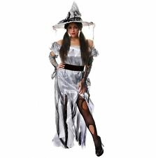 Ladies Zombie Princess Witch Costume Womens Halloween Fancy Dress Outfit