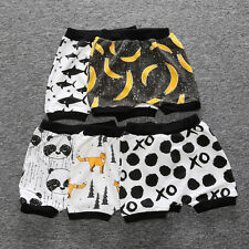 Newborn Baby Kid Boy Girl Summer Bottoms Harem Shorts Pants Bloomer Casual Party