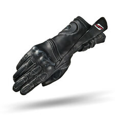 SHIMA MODENA, CLASSIC BLACK LADIES LEATHER VINTAGE MOTORCYCLE GLOVES FOR WOMEN