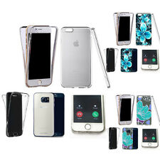 360° Silicone gel shockproof Case Cover for many mobiles -design ref zq215 clear