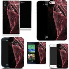 hard slim case cover for many mobiles -  swirling pink