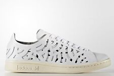 adidas Originals Women STAN SMITH CUTOUT SHOES Dual-Layer,White- US 9,10 Or 11
