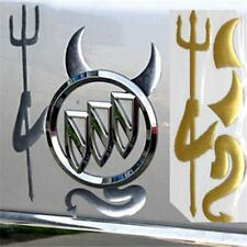 Cute 3D Devil Car Emblem Decal Sticker Automobile Logo Decal Demon Emblem @E