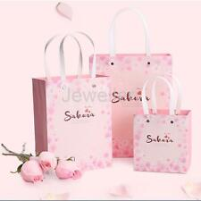 5pc Chery Blossom Party Bags Quality Paper Carrier Bags Gift Bags