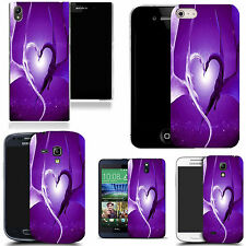 motif case cover for various Popular Mobile phones -   purple affection