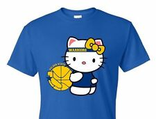 NEW HELLO KITTY T-SHIRT Golden State ,Warriors champion all sizes