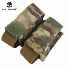 EMERSON 40mm LBT Double Mag Pouch Tactical Airsoft Hunting Magazine Bag EM6366