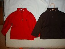 Polo Ralph Lauren toddler boys lightweight jacket 2T or 3T NWT red or brown