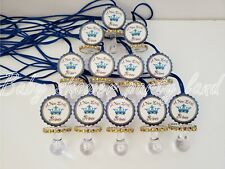 Blue Pacifier Necklaces Baby Shower Little Prince Game Favors Prizes Decorations