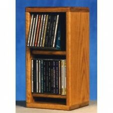 Wood Shed 200 Series 28 CD Multimedia Tabletop Storage Rack. Shipping Included