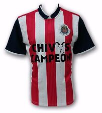 Chivas del Guadalajara Chivas Campeon Men's Home Soccer Jersey Made in Mexico