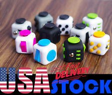 Rose Fidget Cube Toy Anxiety Stress Relief Attention Focus Adults Kids Attention