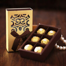 100pc FERRERO ROCHER Candy Boxes Wedding Favor Bridal Shower Chocolate Cute Gift