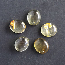 9X7MM Oval Shape, Baltic Amber Calibrated Cabochons AG-214