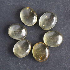 6X4MM Oval Shape, Baltic Amber Calibrated Cabochons AG-214