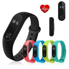 Smart Watch Mi 2 Wristband Heart Rate Monitor Step Counter Tracker Touch