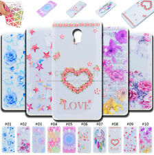 For Lenovo Phones Soft Case TPU Rubber Cover Back Clear Silicone Painted Skin
