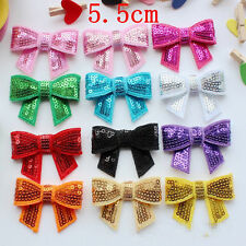 Pet hairpins puppy shiny Sequin Hair Clips Dogs cat Bow bowknot Gromming