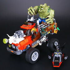 Fun DIY Toys- Batman Killer Croc Vehicle- Super Heroes -Lego compatible-460p-New