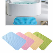 Antiskid Rubber Bathroom Bath Mat Dot Shower Bathtub Sucker Floor Door Mat Pad