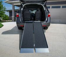 Threshold Access Ramp Folding Suitcase Style Wheelchair Mobility Loading Ramp