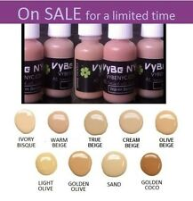 Airbrush Makeup by VyBe NYC all natural Green Tea infused luminess shine