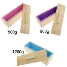 Silicone Soap Mold Making Tool Loaf Handmade Toast Baking Moulds 900g/1200g