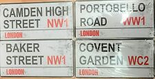 LONDON METAL LONDON STREET SIGN PLATE FOR NW1 WC2 WW1 UK SELLER - FREE POST