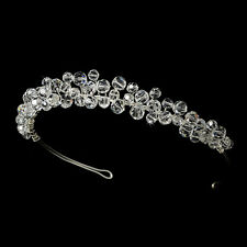 Headband #7143 Swarovski Crystal Bridal Headpiece