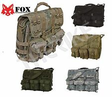 Fox Outdoor Product MOLLE Tactical Military Laptop Field Briefcase Shoulder NEW
