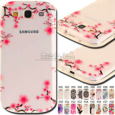 For Samsung Galaxy S3 Cover Skin Protector Soft TPU Gel Clear Back Rubber Case