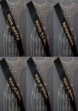 Leopard Print Hen Night Sashes Bride Do Out Girls To Be ACCESSORIES For WEDDING
