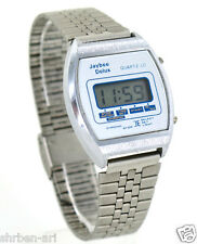 Vintage JAYBEE Delux LCD Retro Digital Watch Made In Hong Kong
