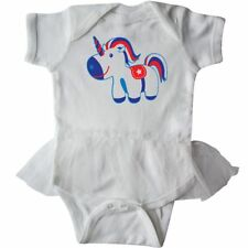 Inktastic Unicorn Patriotic 4th Of July Holiday Infant Tutu Bodysuit Day Cute